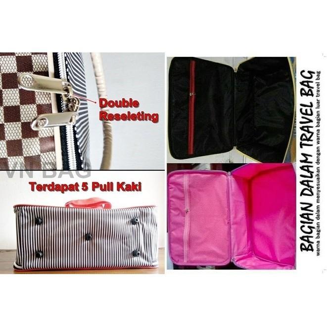 PROMO! Tas Travel Bag Koper Anak Ukuran Besar Karakter