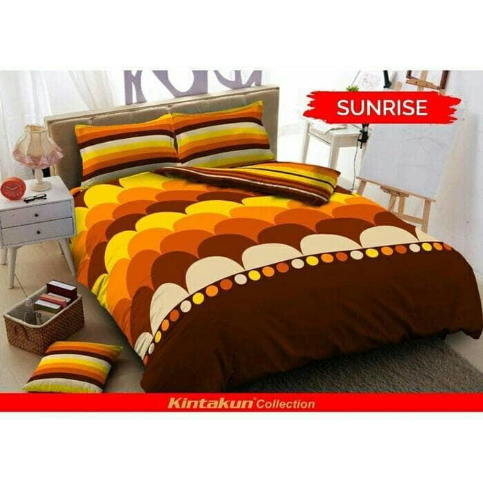 Sprei Kintakun dluxe 120 Sunrise single size 120x200 - MWTBGU
