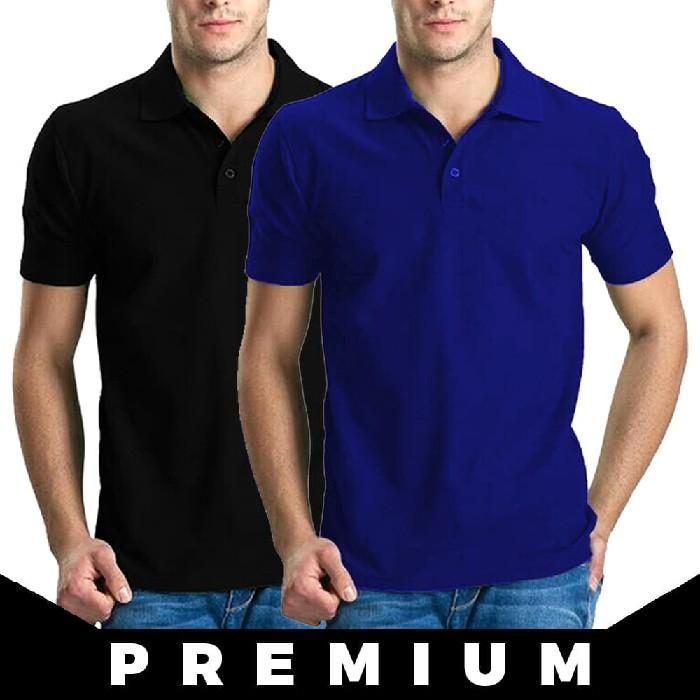 Kaos Polo Shirt Polos Kerah Premium Grosir Golf Rasa Lacoste / Gildan - Cmylth