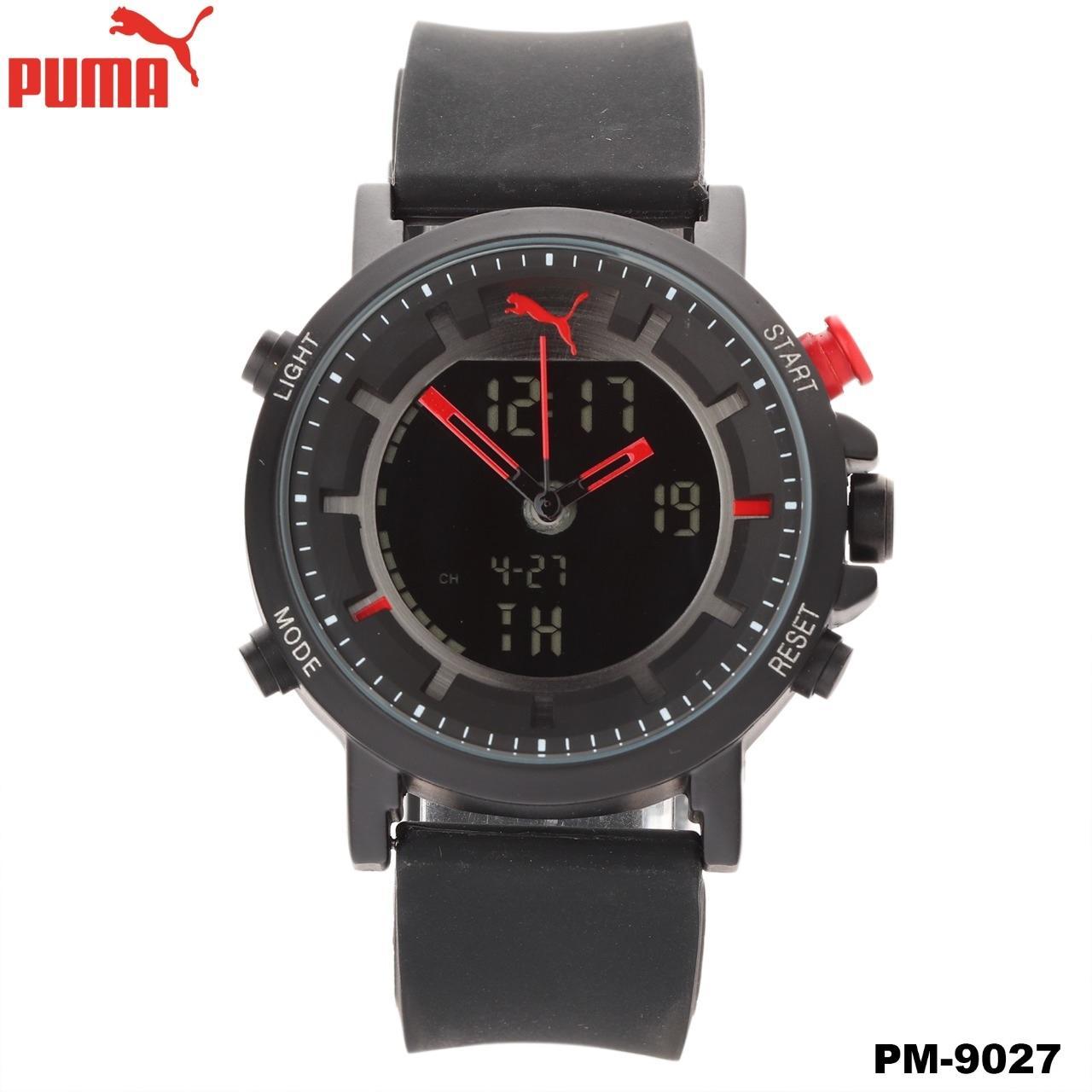 JAM TANGAN FASHION PRIA PUMA - PM9027-ULTRASIZE RUBBER NEW