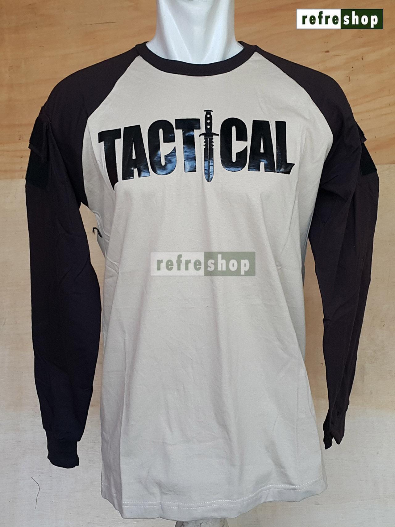 ... Kaos Tactical Army Lembut Adem Nyaman Awet Cotton Tebal Berkualitas KTCP0102DD - 4 ...