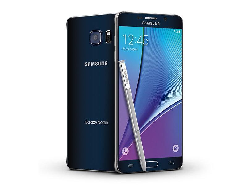 Samsung Galaxy Note 5 - 64GB/4GB - Black Sapphire