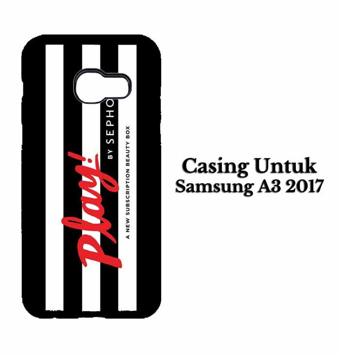 Casing SAMSUNG A3 2017 Play by Sephora Hardcase Custom Case Se7enstores