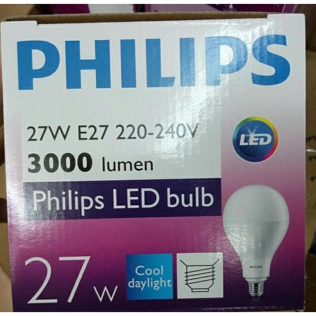 BEST SELLER!!! LAMPU PHILIPS LED 27 WATT 27 W 27WATT 27W - Putih