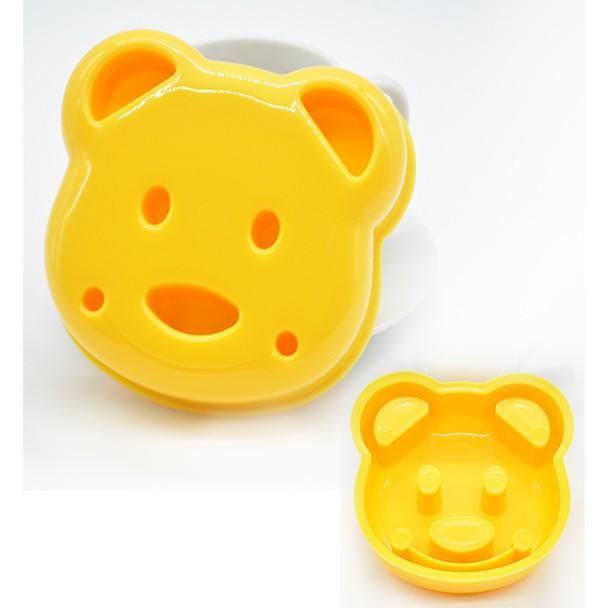 Cetakan Roti Motif Bisa Juga Buat Nasi Kepala Beruang / Bread Mold