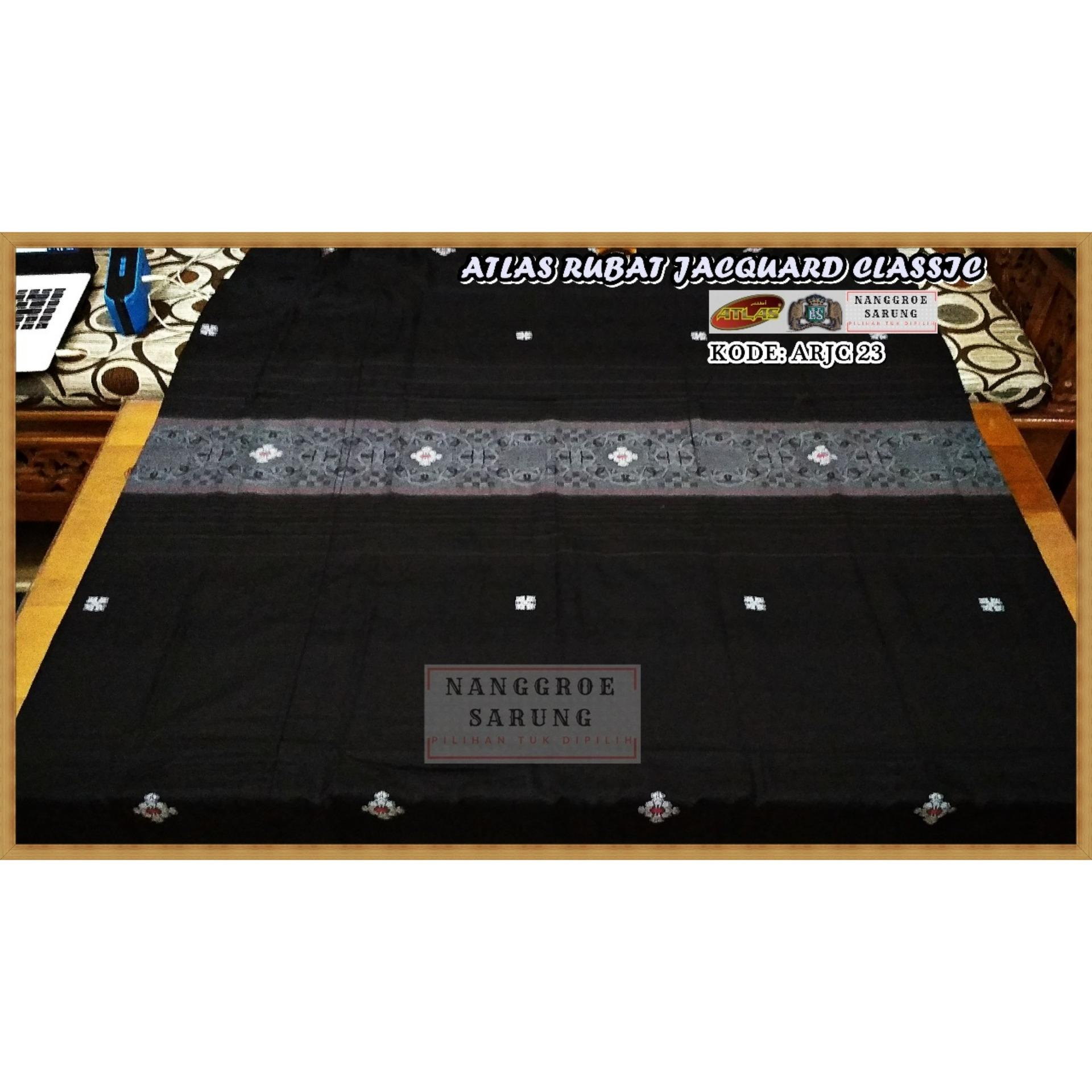 Sarung Atlas Rubat Motif Jacquard Classic 23