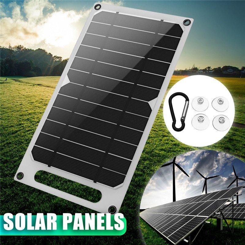1x Solar Panel 4x Sucker 1x Mountaineering buckle