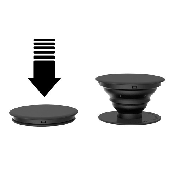 ... Home Delkin Popsockets Fashion Phone Holder Iring Expanding Stand Grip Pop Mount Hitam Free Hook Image