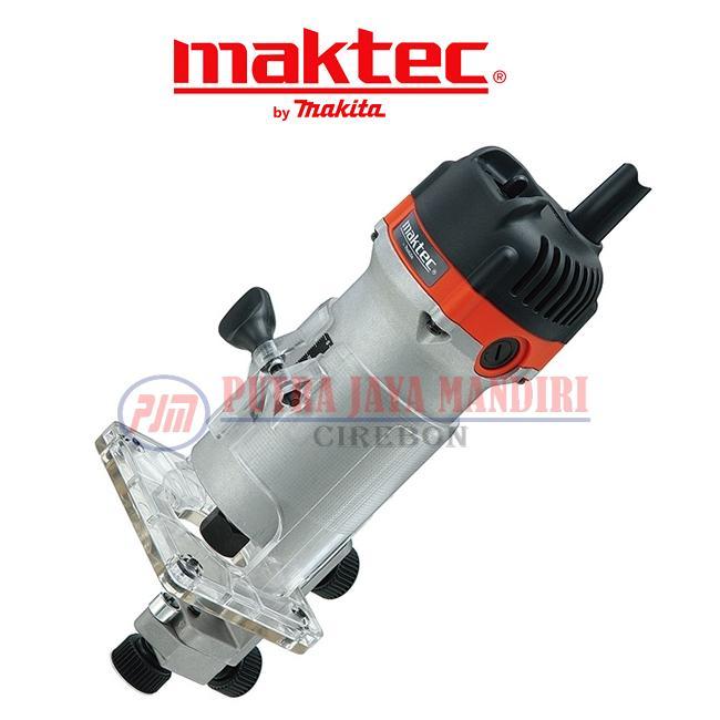 Maktec Wood Trimmer / Mesin Profil Router Kayu MT370