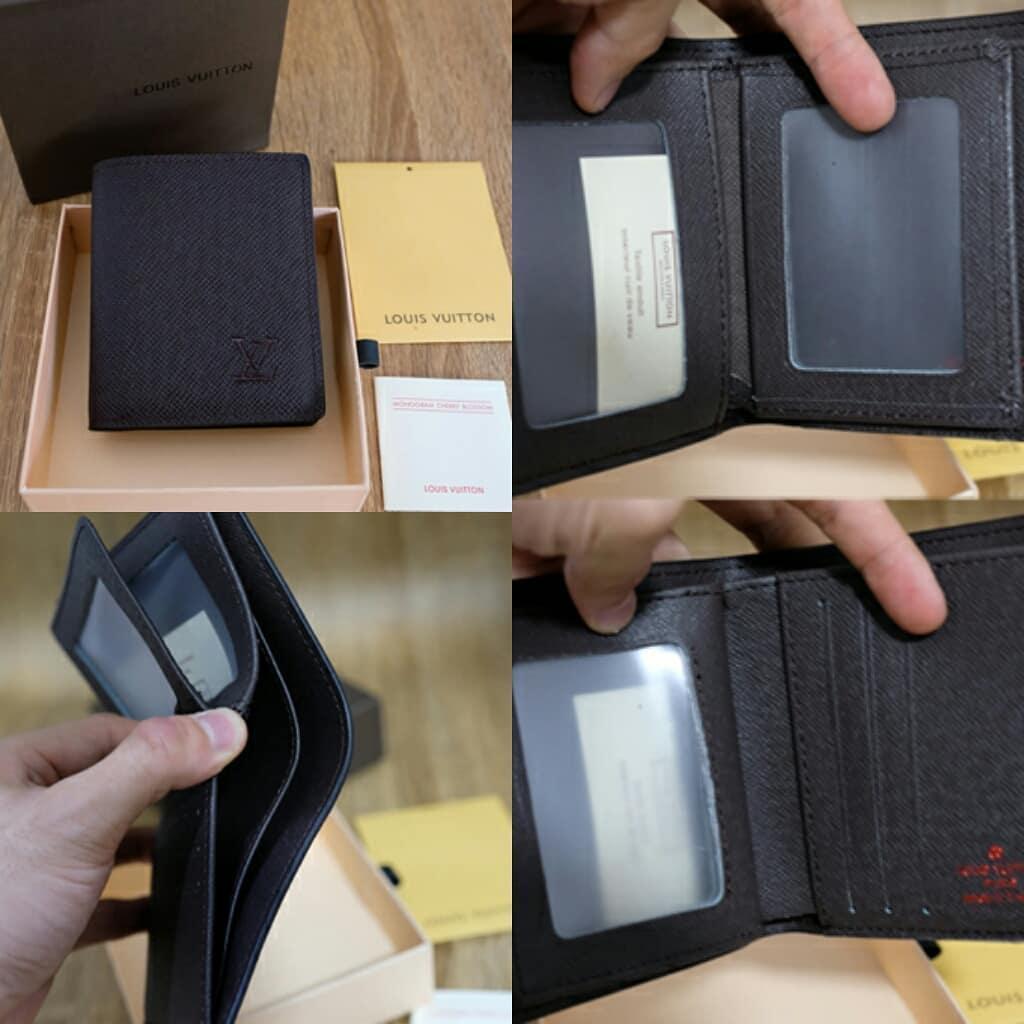dompet wallet Louise Vuitton Black