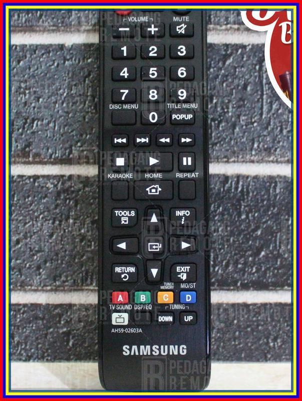 Remot Remote Home Theater Hometheater Ht Samsung Ah5902603A Original