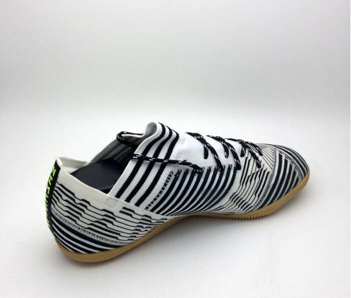 Sepatu Futsal Adidas Nemeziz Tango 17.3 IN White Black BB3653 Original