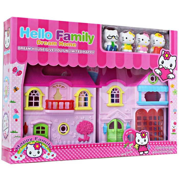 PALING DICARI HELLO KITTY FAMILY DREAM HOME MAINAN ANAK PEREMPUAN TERLARIS 6baf3c752a