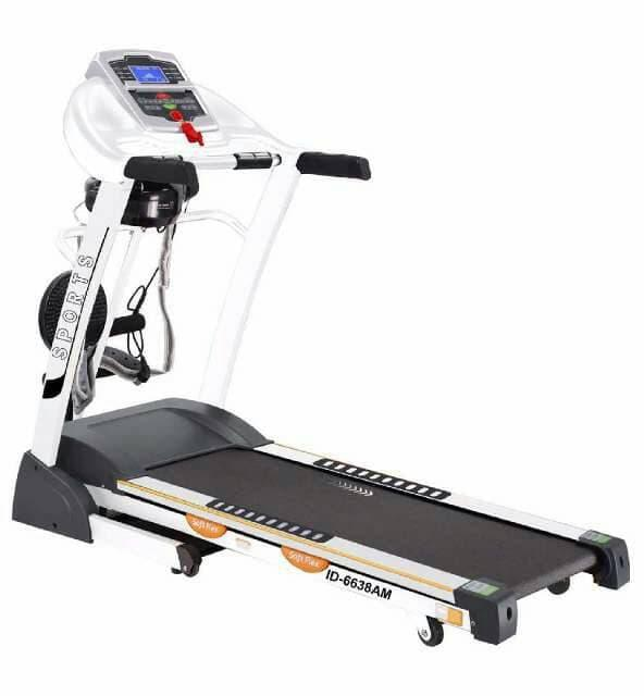 BEST SELLER!!! TREADMILL ELEKTRIK 4 FUNGSI ID6638AM - LxWUu0