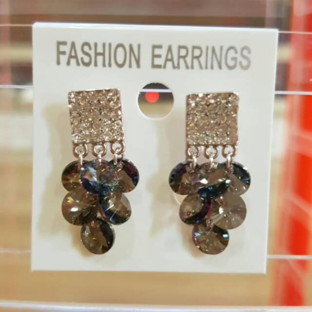 Anting Swarovski/Anting Titanium/Anting Pesta