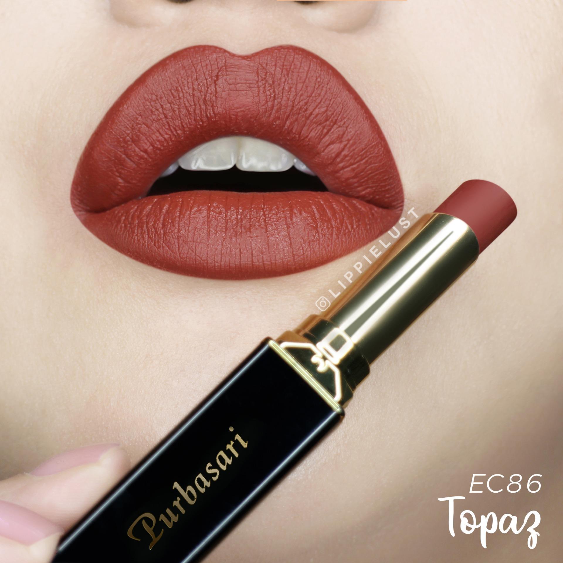 Purbasari Lipstick Collor Matte 86