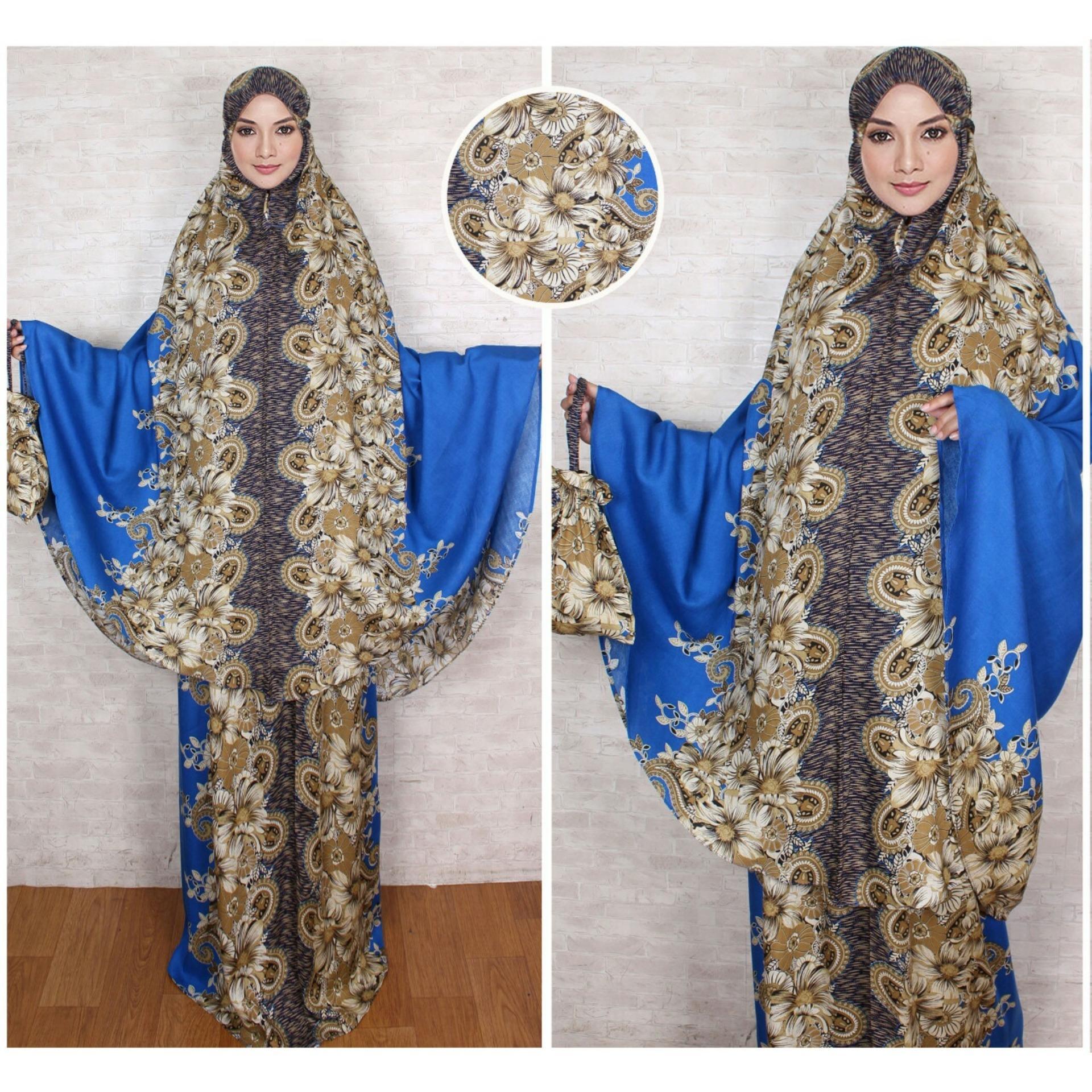 Be-One Store - Pakaian Muslimah Mukena Wanita Fashionable - Mukena Batik Solo