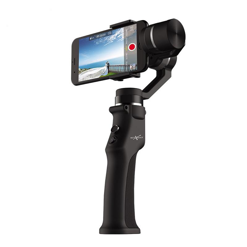 Beyondsky Eyemind Smartphone Handheld Gimbal 3-Axis Stabilizer for iPhone 8 X Samsung Action Camera VS Zhiyun Smooth 4 Q OSMO 2 - intl