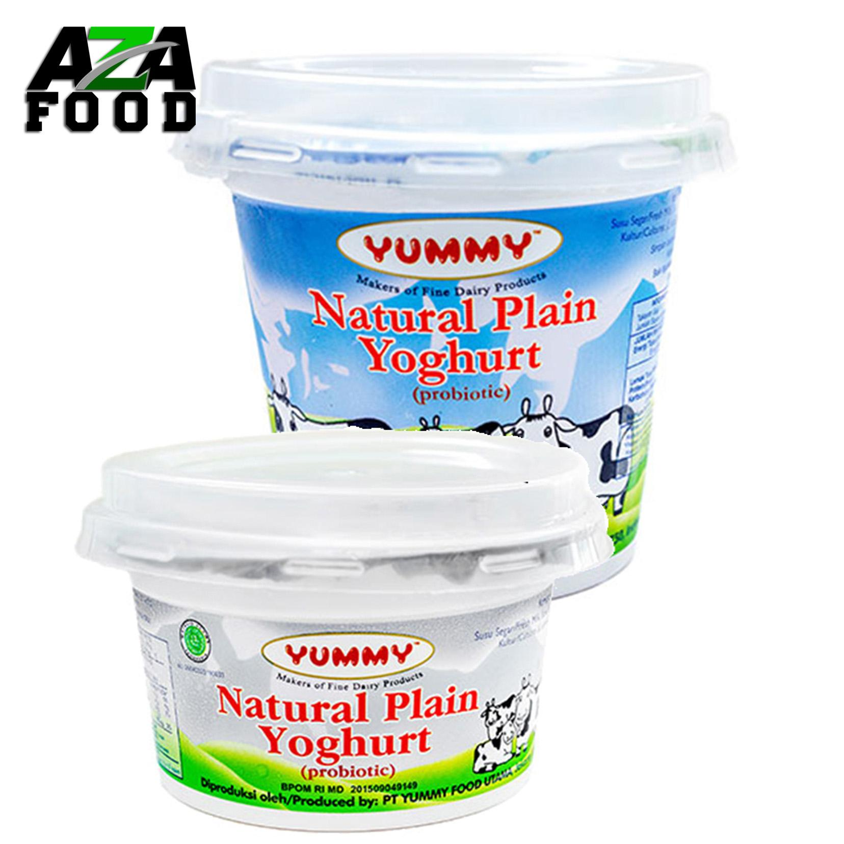 Yummy Yoghurt Natural Plain 500 gr