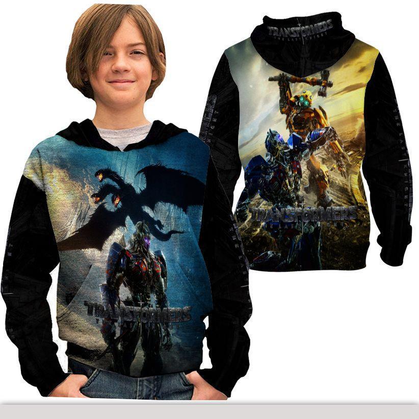 Jaket Pullover Anak Fullprint Custom Transformers Dark of the Moon Art 2