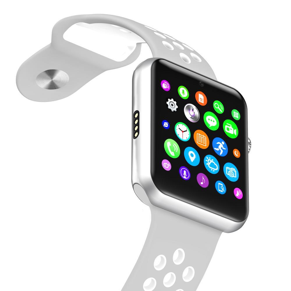 Bluetooth smart watch Sim card Camera smartwatch case for apple iphone samsung xiaomi .