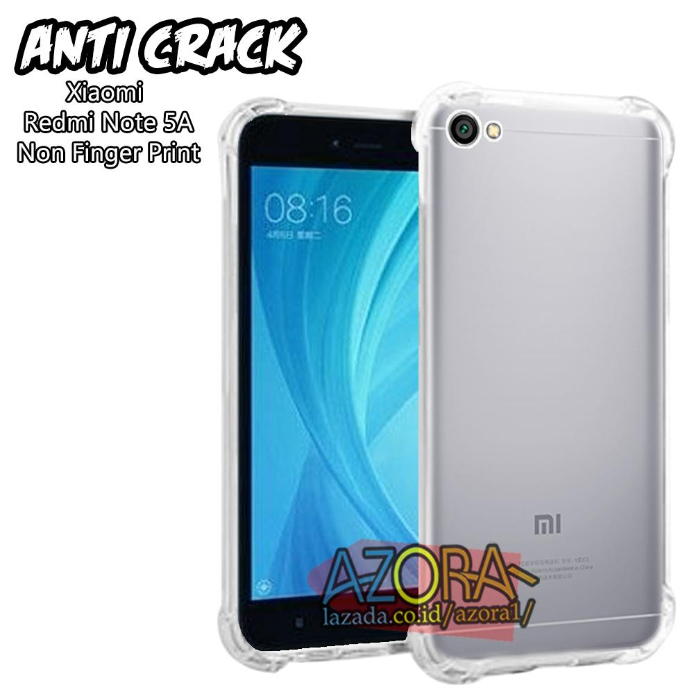 Case Slim Black Matte Xiaomi Redmi Note 5A Non Finger Print Baby Skin Softcase Ultra Thin Jelly Silikon Babyskin