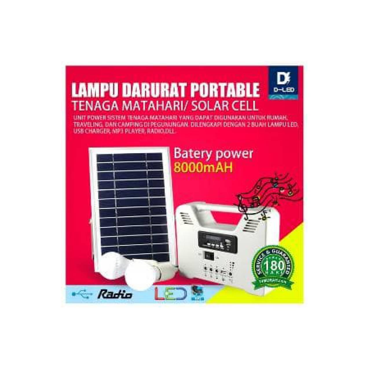 Emergency Lentera Tarik Powerbank Solar Lampu Led Camping Murah . Source · Lampu Darurat Emergency Solar