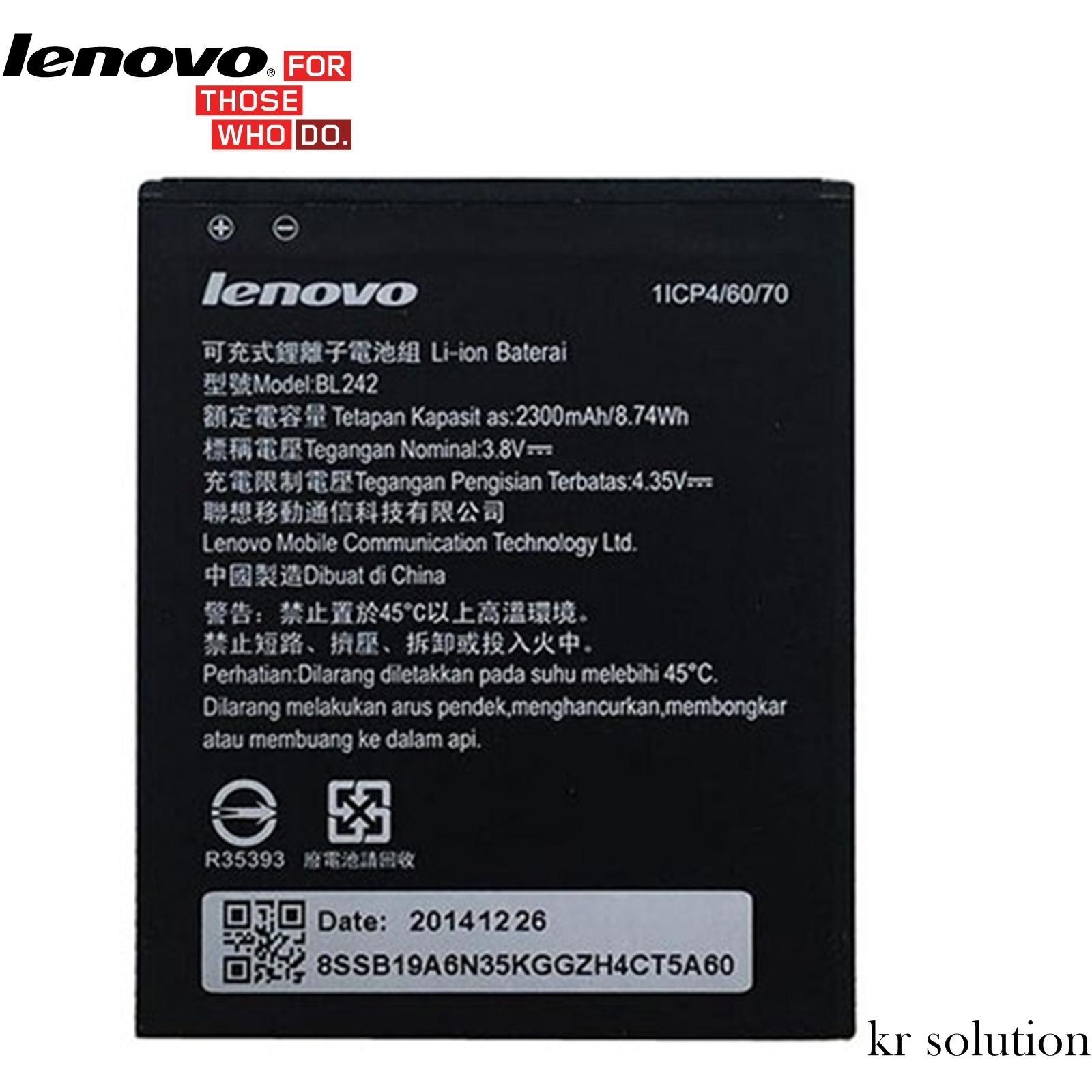 Baterai Lenovo lazada