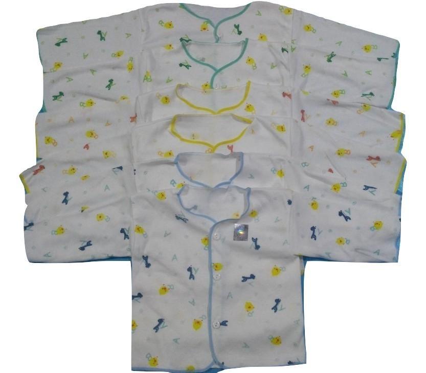 Baju Bayi Lengan Panjang Tanaka SNI 0-6 Bulan / 6 Pcs / 1/2 Lusin