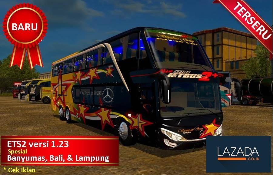 ETS2 Bus Simulator Indonesia Spesial Map Bali Banyumas Lampung