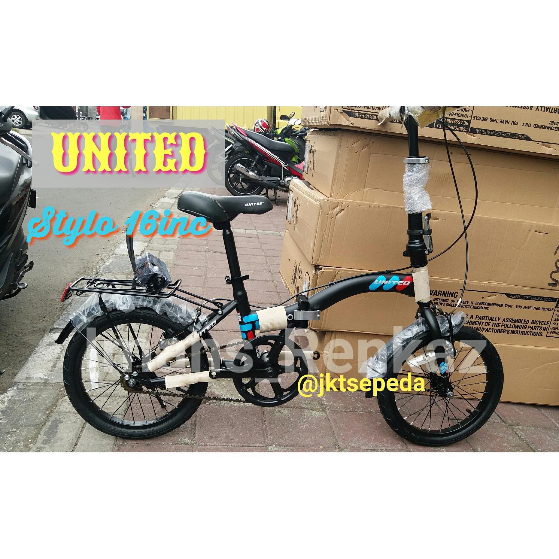Sepeda Lipat UNITED STYLO Terbaru