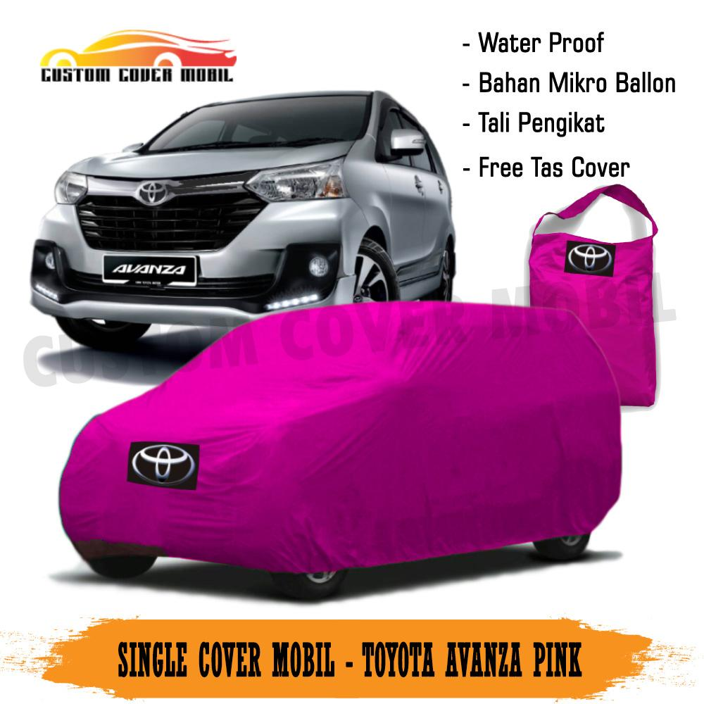 Cover Mobil/ Selimut Mobil Toyota Avanza Waterproof 1 Layer