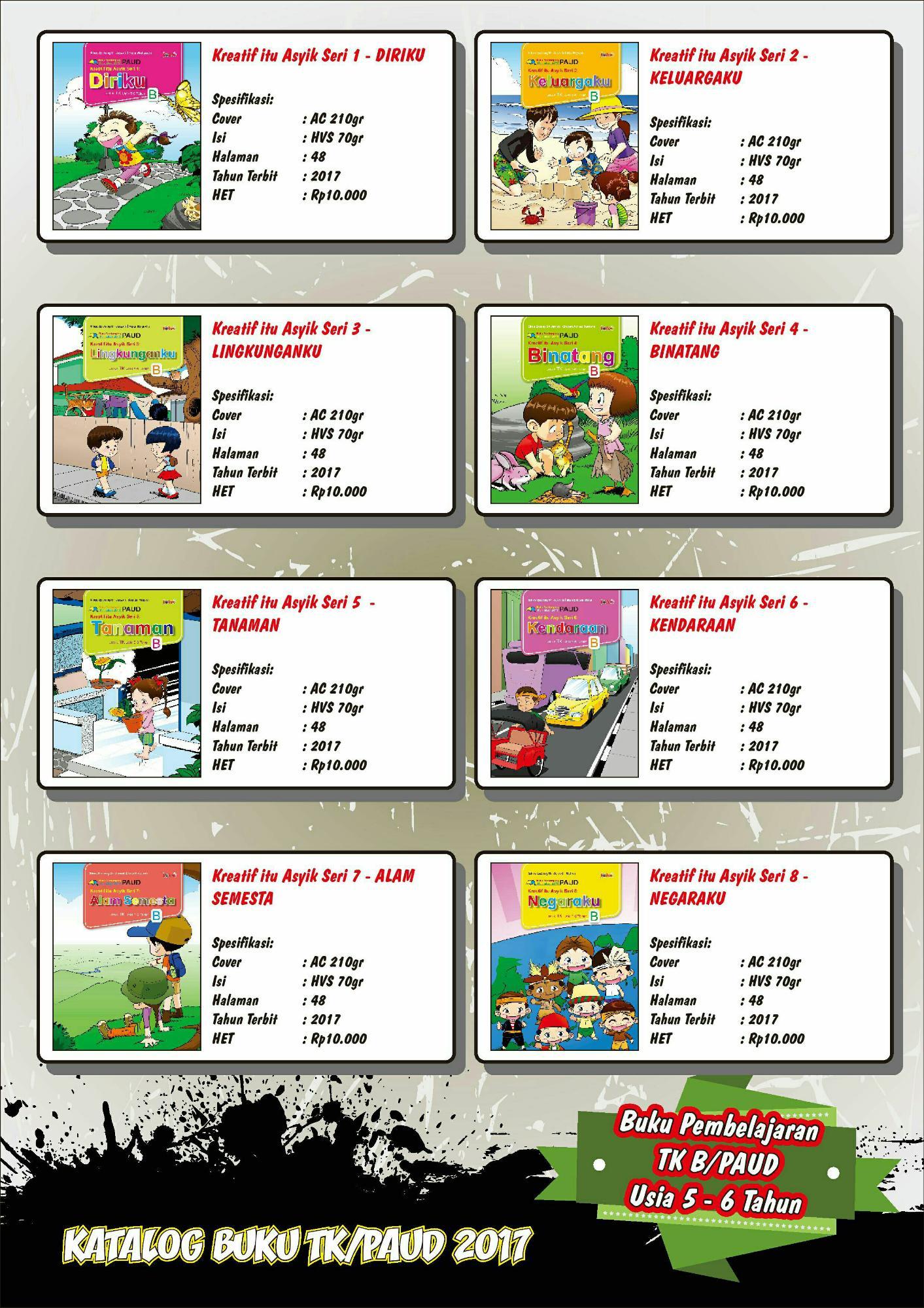Buku Paket PAUD/TK