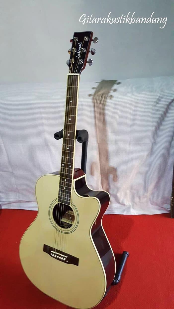 Gitar Akustik Murah Gitar Bandung Baru Bisa GoSend Tanam Besi Lakewood
