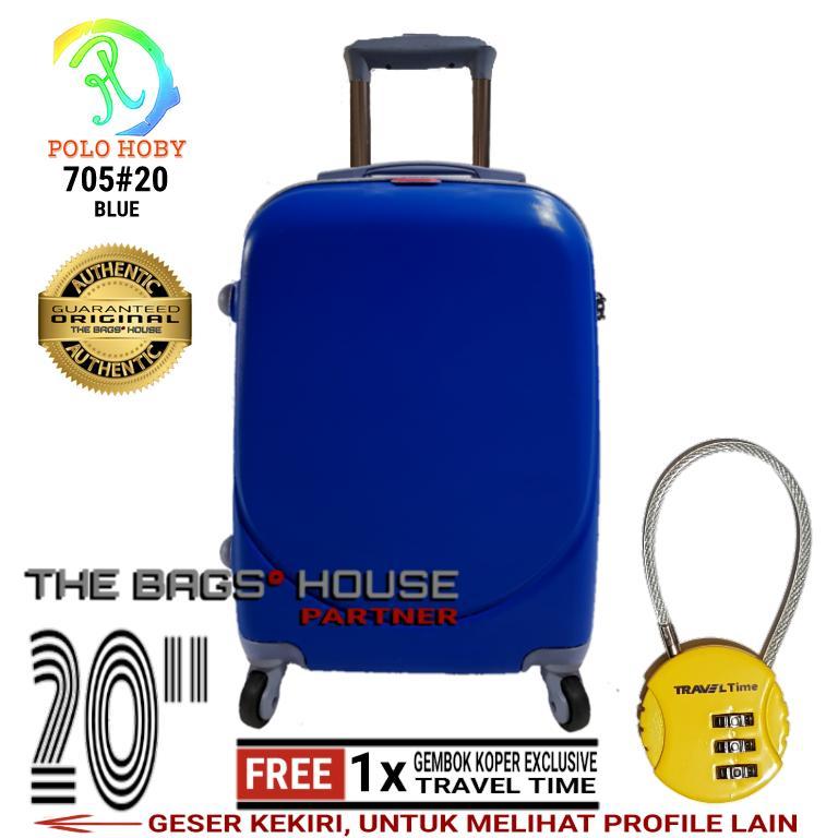JUAL Polo Hunter Tas Kabin Trolley - Duffle Bag with Trolley - Tas ... ad1646d51f