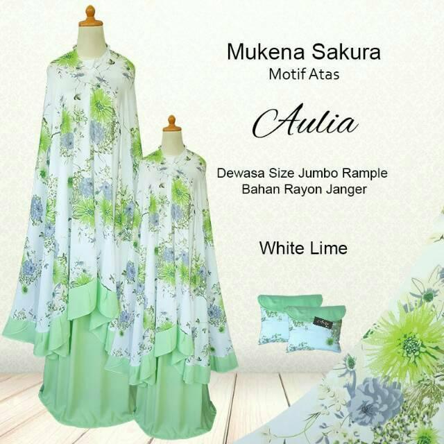 Mukena Bali Couple sakura azzahra soft peach