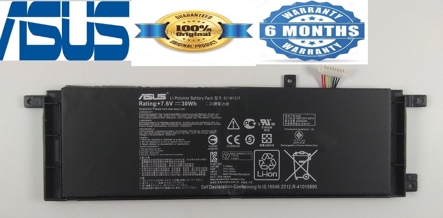 Asus Battery Batre Baterai Original ASUS X453 X453M X453MA X453S X453SA X553 X553M X553MA X553S X553SA X403M X503M Ultrabook B21N1329 ORI