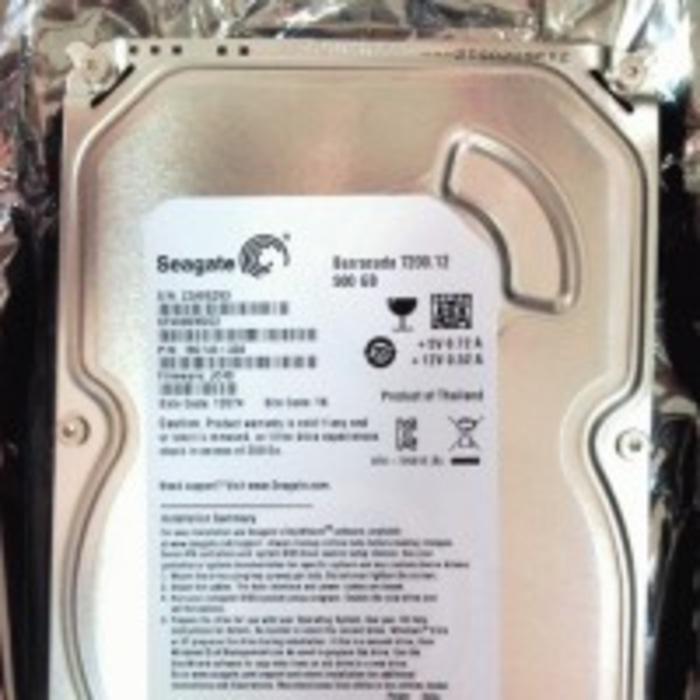 Jual HDD  Harddisc  Harddisk 500GB Seagate SATA