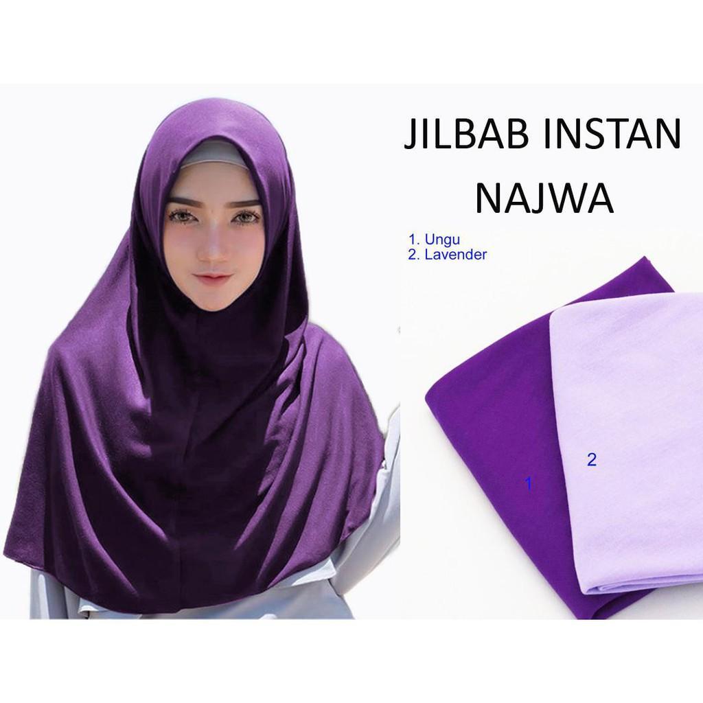 SALE TERMURAH!!! Jilbab Instan Najwa / Hijab Instan / khimar mini / khimar simple / khimar