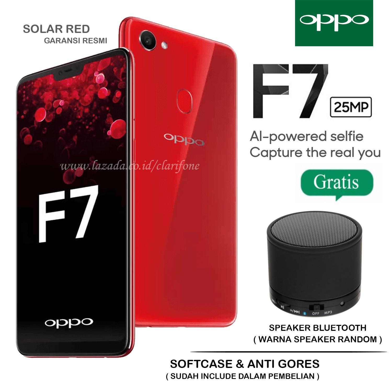 Oppo F7 - Selfie Camera 24MP - Ram 4GB - Rom 64GB - Layar 6.23 inch