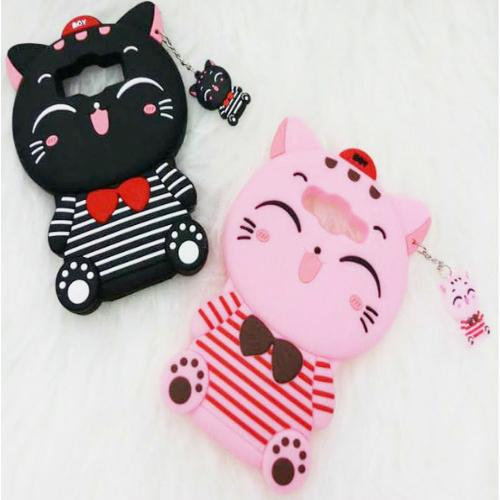 Case Boneka For ASUS ZENFONE 5 Karakter STITCH / CAT MINI / POLKADOT HELLO KITTY Softcase  - MSC