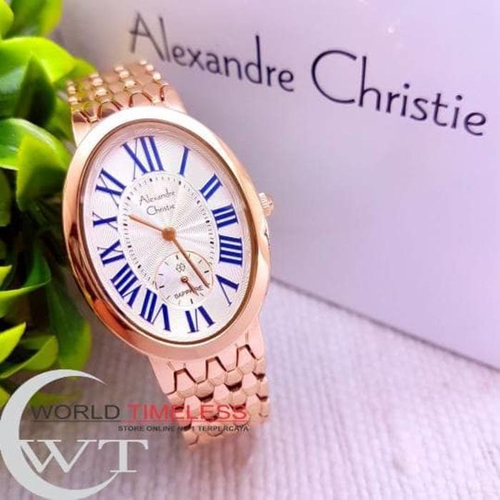 Jam Tangan Wanita Merk Alexandre Christie Original Type: AC 2667