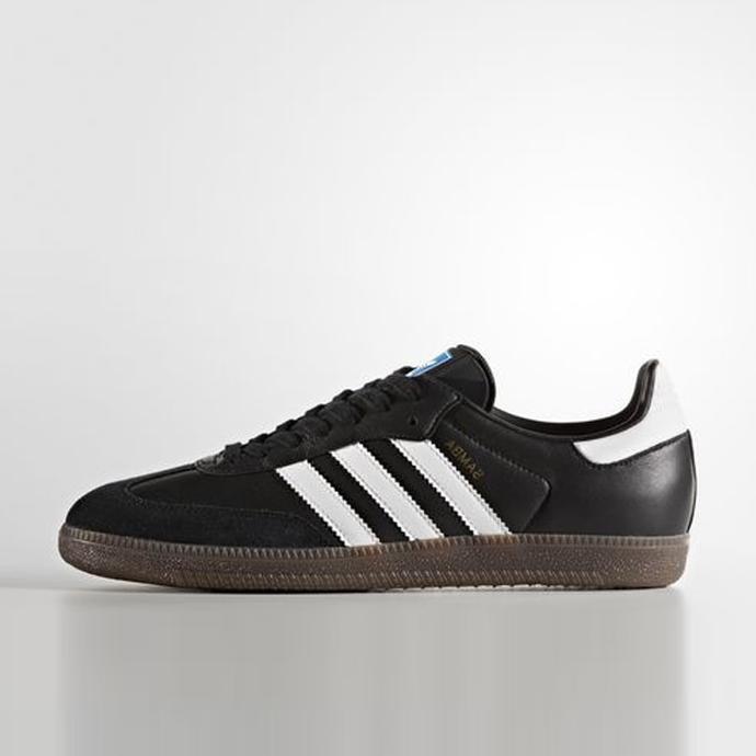Sepatu Casual Adidas Samba Og Black Original Bz0058 - Pe2soh