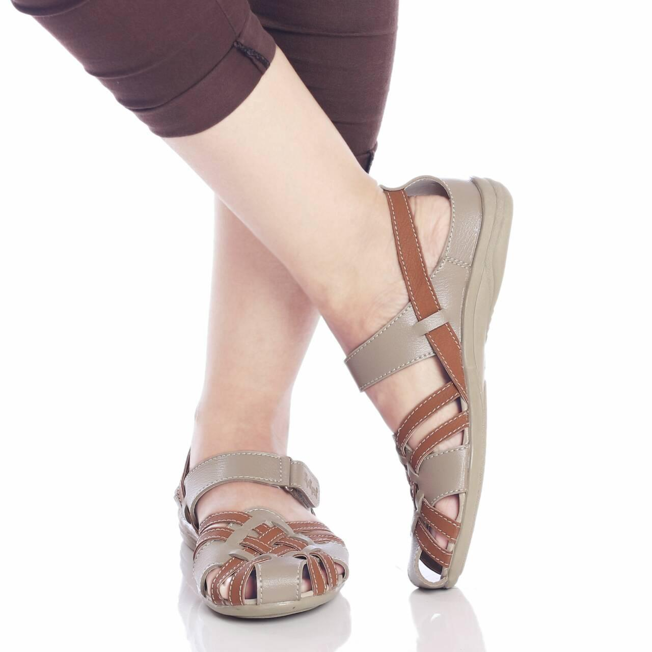 Promo sepatu sandal murah wanita cewek KICKERS grosir Fashion
