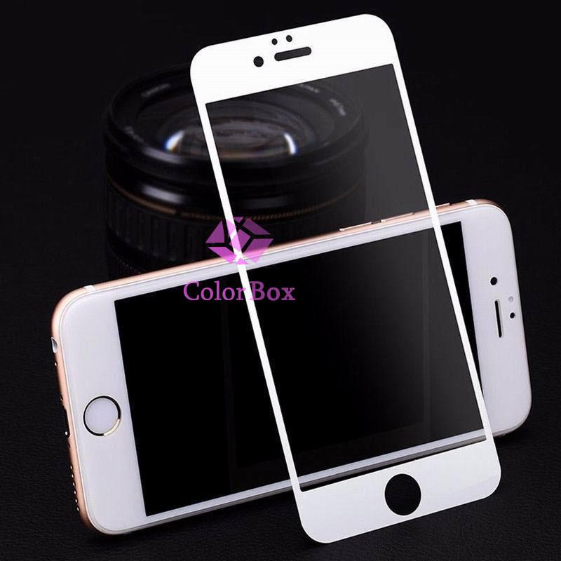 MR Iphone 6 Plus / iPhone6 Plus / Iphone 6G Plus / iPhone 6S Plus Ukuran 5.5 Inch Tempered Glass Iphone 6+ / Anti Gores Kaca / Anti Gores Iphone 6 Plus / Temper iPhone 6G Plus - Full White