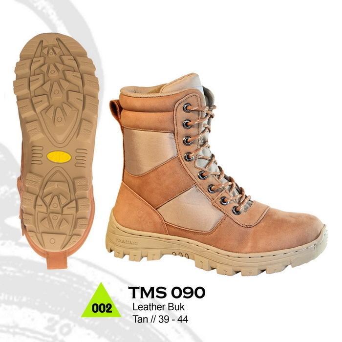 Jual Sepatu Boots Model Delta Rei PDH Bahan Kulit unt Motor Adventure