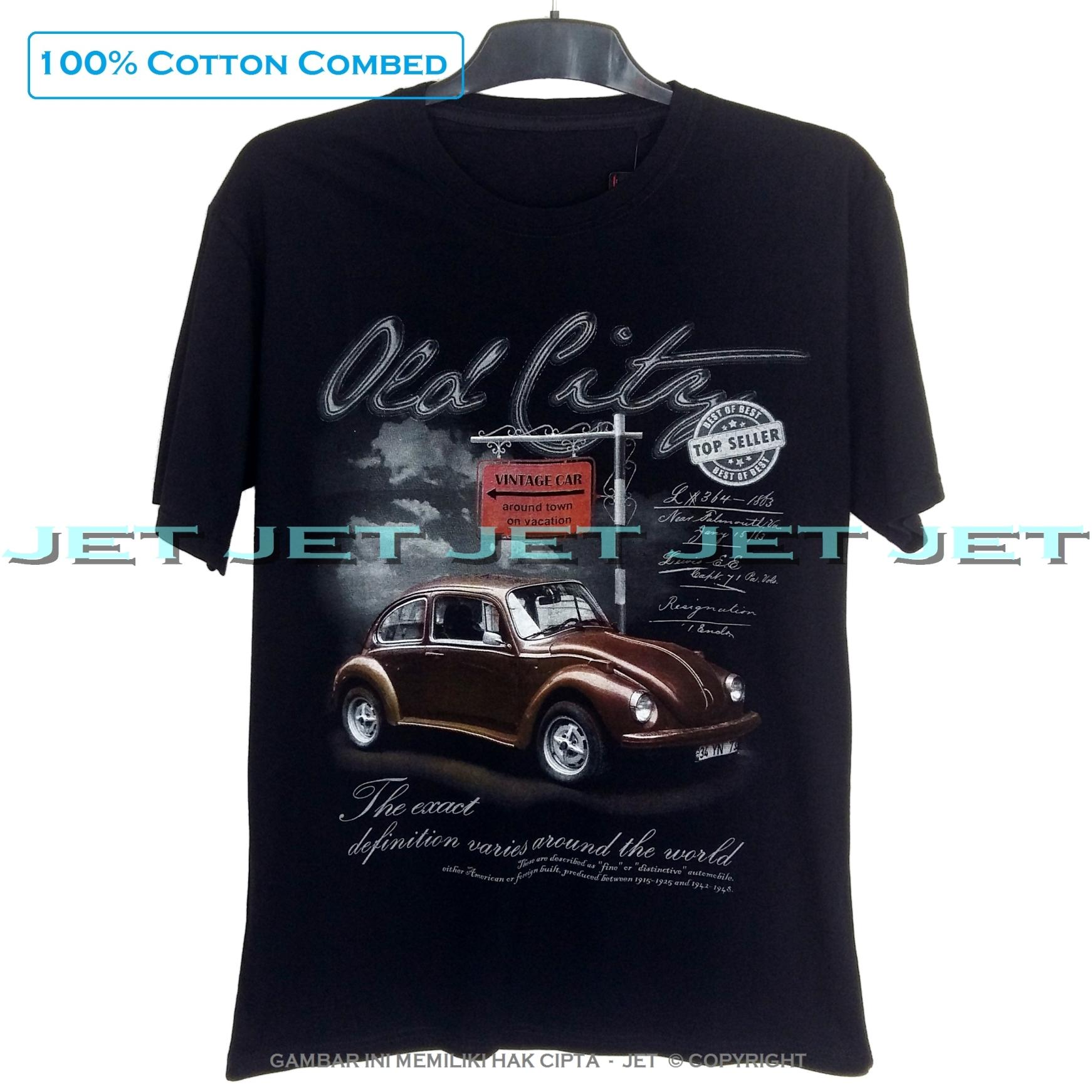 Spectral - VOLKSWAGEN 100% Soft Cotton Combed 30s Kaos Distro Fashion T-Shirt Atasan