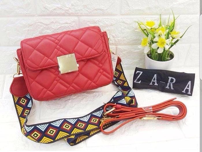 harga Tas Wanita Sling Bag Zara Enima Lazada.co.id