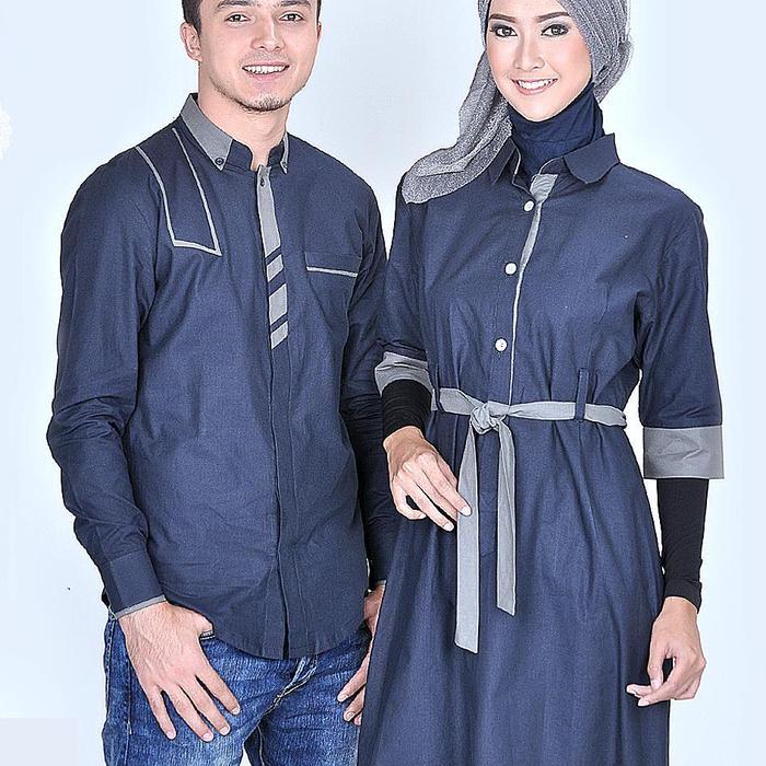 busana muslim pasangan casual, baju muslim couple murah 0841&0254, baju sepasang suami istri murah