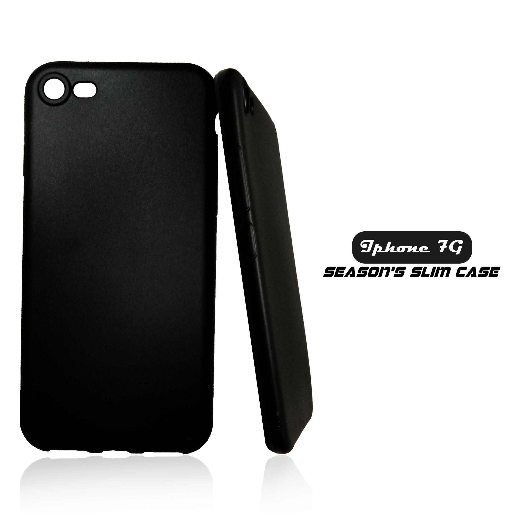 Joyce Slim Matte Black for Iphone 7G Softcase Baby Skin